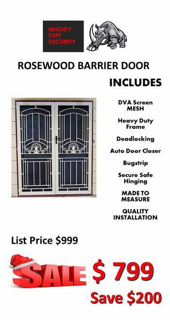 Rosewood Barrier Door Sale $799
